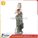 Marble carving grace flower ancient female statues NTMS-041Y
