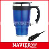 12V car electric heat kettle car water warmer car travel mug