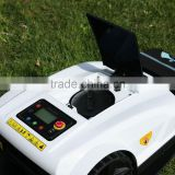 Non-pollution robot lawn mower, auto cutting tractor with rain cover for sale, cutting machine S520