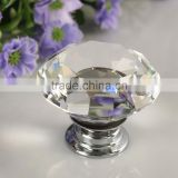 1pcs 30mm Diamond Crystal Glass Alloy Door Drawer Cabinet Wardrobe Pull Handle Knobs Drop Shipping Wholesale