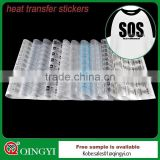 Competitive offer on offset heat transfer sticker printing service