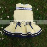 OEM/ODM Lightweight Cotton Baby Cloth Baby Ruffle Dress New Design