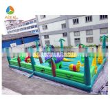 Largest dinosaur theme inflatable fun city kids play area