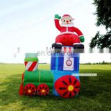 Lovely inflatable model Santa Clause for Christmas party