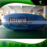 Custom Shape Inflatable Helium Blimp , Inflatable Advertising Sky Airship , Outdoor Parade Inflatable Zeppelin