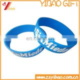 Cheapest customized embossed /printed silicone wristbands