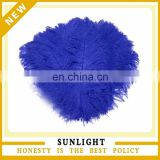new design fashion natural blue ostrich feather