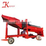 March Small Scale Gold Mining Equipment, Small Gold Washing Machine, Mini Gold Trommel for Sale