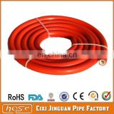 CE ISO BS EN 3821 Standard Safety Orange PVC LPG Gas 8mm Low Pressure Hose With 2 clamp as Full universal BBQ Kit