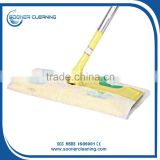 Soonerclean high quality spunlace nonwoven floor mops with disposable wipes