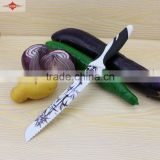 ZY-B30573 chinese classical bamboo paterned style balde bread knife
