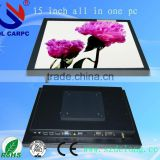 Good Price DL 17'' LCD Panle Touch Screen 4-Wire Resistance touch All In One Pc Tablet Computers