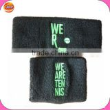 knitted promotional wristband and headband