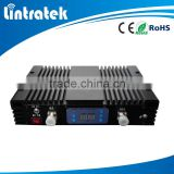 Lintratek brand LCD home use China supplier 2G signal repeater CDMA Hotel 70db repeater 850mhz