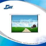 BW Tubular Motor Rear Projection Electric Screen/Motorized Control 150 Inch Projector Screen                                                                         Quality Choice