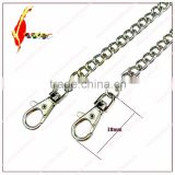 Top Quality 120cm handbag Silver metal chains for bags purse chain straps replacement Handbag hardware accessories straps