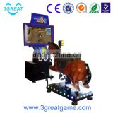 Go Go jockey riding horse simulator game machine arcade horse jockey game machine