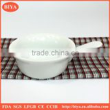 microwave cake bowl porcelain seasoning oil juice bowl or soy sauce dish and round cake baking dish with handle