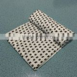 Customized swiss cross design knitted organic cotton bamboo muslin swaddle blanket                                                                         Quality Choice                                                                     Supplier's Ch