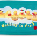 PM1810 2015 Karibu Factory Wholesale Baby Anti-slip Duck Cartoon PVC Bath Mat Promotion for Gift