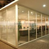 Modern Single Glass Office Wall Aluminum Frame Divider Wall Partition(SZ-WS571)