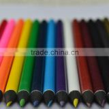 "7"" Round full printing color Black Wooden Color Lead Drawing Pencil With No Rubber Custom Logo"