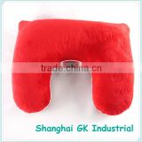 Microbeads or Buckwheat Hull Filling Convert Pillow