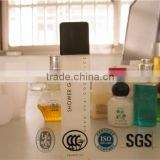 Hotel shampoo/body lotion/shower gel/conditioner square bottle with screw cap hotel amenities