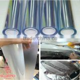 High clear 100% transparent pvc protection car paint plastic film cover