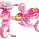 adjustable double seats kids tricycle/children running bike 3018Y