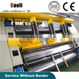 Factory directly sell energy saving machine corrugated single facer & mill roll stand & paper cutting machine