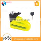 Bicycle accessories e-bike lock/green bicycle disc lock/bike Anti Theft disc brake lock