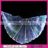 2015 hot fashion fiber optic led light belly butterfly dance costume                                                                         Quality Choice