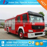 HOWO fire truck dimension 8000 liters water capacity, fire truck specifications, fire fighting truck price