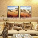CTX-10179 modern scenery painting handmade canvas wall art landscape oil painting