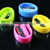 New design plastic pencil sharpener colorful alloy economic cute sharpener