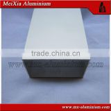 silver-white anodized aluminium extrusion square tube for inner walls                                                                                                         Supplier's Choice