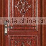 Hand carved solid wood doors with models YHB-1226