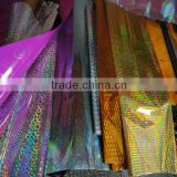 Various Patterns And Different Colors Superior Quality OPP Holographic Wrapping Film For Decoration