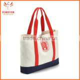 Chinese Manufactory Cotton Canvas Tote Bags Custom Logo Printing Promotional Shoppping Bag With Handles