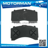 MOTORMAN Free Sample Available OEM all type good friction disc brake pad WVA29244 for BENZ