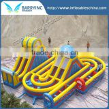 BYgiant outdoor inflatable obstacle course
