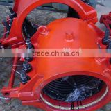 Carbon steel high pressure leak repair clamp for oil and gas pipe                                                                         Quality Choice