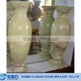 Wholesale New Light Green Onyx Marble Tall Flower Vase
