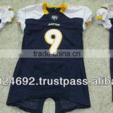 custom american football jerseys tackle twill and embroidery