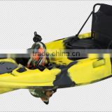 single pedal drive kayak fishing kayak very professional we have patent in all of the world