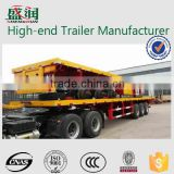 2015 flat deck semi trailer for container flatbed semi trailer
