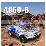 WL A969-B 1:18 RC Car High Speed 4WD RC Truck Metal RTR 2.4G Full Scale RC model Truck                                                                         Quality Choice