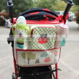 alibaba wholesale golden supplier high quality beautiful easy- take baby diaper bag use for strollers