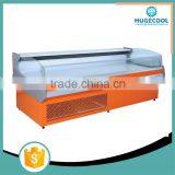 Supermarket Display Meat Chest Commercial Meat Freezer Refrigerator Showcase With Remote Compressor